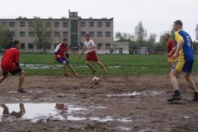 Настоящий дворовый футбол - тур в Бобруйске