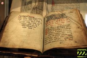 На выставке представлены редчайшие экземпляры книг
