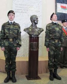 Бюст  Дмитрия Карбышева в Пашково