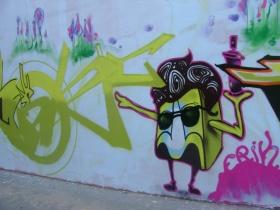 Граффити на Лазаренко