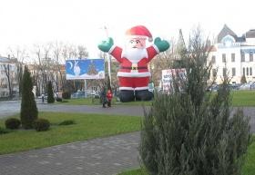 Первый Санта Могилёва. В этом году.
