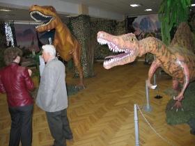 Выставка динозавров в Могилёве