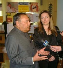 Посол Индии в РБ Рамеш Чандер