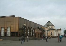 Железнодорожный вокзал в Могилёве