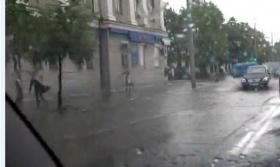 Первомайская под майским дождём