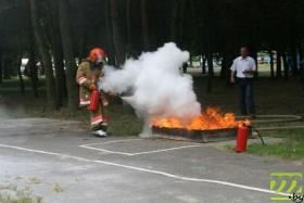 Тушение пожара