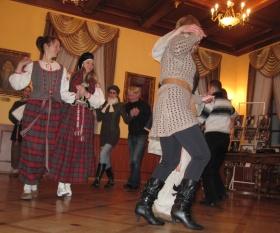 Мастер-класс по белорусским танцам