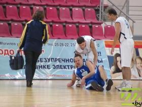 Андрею Агеенко сильно досталось