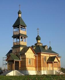 Храм в деревне Королёв Стан