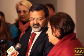 Посол Индии и его супруга