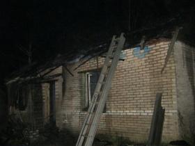 Пожар в деревне Каменка Горецкого района