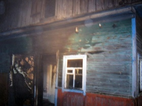 Пожар в Кировске