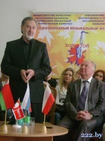 А.Ярмоленко, председатель жюри конкурса ВИА имени В.Мулявина