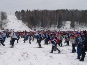 Могилёвская лыжня 2012