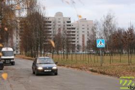 Бульвар Непокорённых в Могилёве