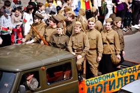 День Победы в Могилёве