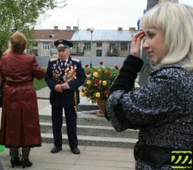 Митинг у памятника И.С. Лазаренко