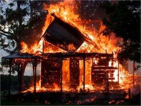 пожар Могилёв