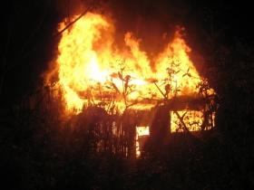 Пожар в Горках