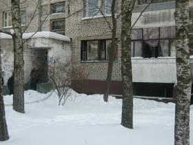 Пожар в подвале дома по Пушкинскому проспекту