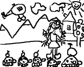 детский рисунок Могилёв