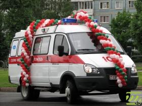 Новая подстанция получила в подарок 6 машин скорой помощи
