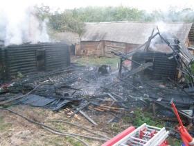 Деревня Тросенка Шкловского района
