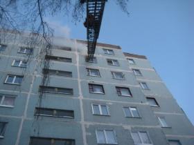 Пожар в доме по переулку Гоголя