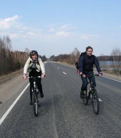 Первенство по технике велосипедного туризма