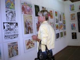 Выставка изостудии «Шар»