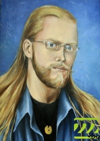 Евгений Зайцев - автопортрет