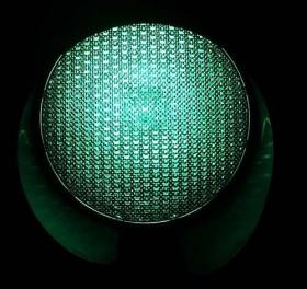 Зелёный сигнал светофора