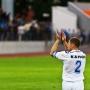 Евгений Капов благодарит болельщиков