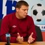 Тренер «Белшины»  Александр Седнев на пресс-конференции