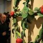 Александр Литин и войлочные яблоки