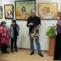Выступает Елена Анатольевна Ныркова, директор выставочного зала университета