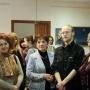 Евгений Зайцев со своими педагогами